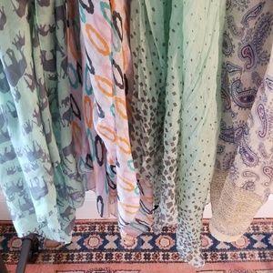 Francesca's Accessories - Lot of 4 Scarves